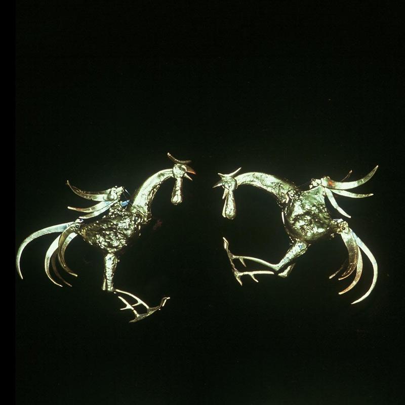 jacques-monestier-carre-1965-le-combat-de-coqs